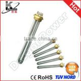 6000W AC380V 6KW Boiler Electric Heating Tubular Water Heater Element Size 280mm x 62mm (L*Max.W)