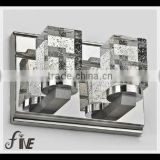 Crystal mirror front lamp Meals chandeliers light accessories,light damp-chimney,lamp shade