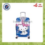 "Spinner 20""24"" Size PC Plastic Hard Shell Suitcase Hello Kitty Cartoon Luggage                                                                         Quality Choice"