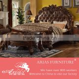 American modern style royal furniture antique queen bedroom furniture sets