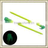 "8"" Fiberglass Tent Peg/Tent Stake, Glow in the dark/Luminous Needle Stakes"