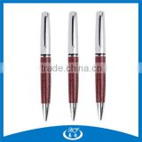 High End Luxury Leather Ball Pen,Permanent Skin Pen