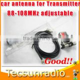 FMUSER CA-100 Car FM Antenna for FM transmitter radio broadcaster 0~100w high gain 88-108MHz adjustable