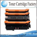 China toner cartridge CF400A for HP Color LJ M252N/M252DW/M277N/M277DW