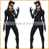 Pole dancing leather leotard girl dress uniform temptation cat cat club COSPLAY DS female costume