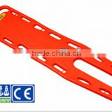 HDPE rescue medical transfer spine boards,X-ray translucent,ambulance spine board,water rescue spine board