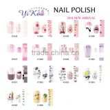New Fashion 1 Sheet Water Transfer Nail Art Stickers on Nails Design Manicure Decal Tips Beauty Decoration for Nails To Chose