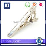 High-end fashion logo cufflink tie clip tie bar with box