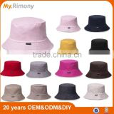 100% cotton good quality bucket hat printed or embroidery your custom logo                                                                         Quality Choice
