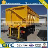 4 axle semi- trailer 25 ton - 30 ton - 40 ton each box 40 cubic meter tipper dump semi trailer truck