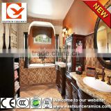 300x300 ceramic floor tiles,3d bathroom flooring,3d wall and floor tile,bathroom tile 3d ceramic floor tile