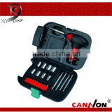 24pcs ningbo dike Tool box with Flashlight DK-204A