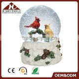 christmas snow globe souvenir with bird figurine                                                                         Quality Choice                                                                     Supplier's Choice