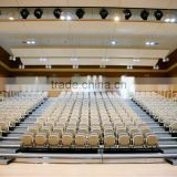 Arena retractable tribune telescopic chair flex grandstand seating system. indoor system
