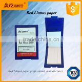 Universal neutral ph test strips litmus red test paper