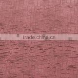 2015 new!!!! PU embossed synthetic leather for bags and shoes/china leather for india market/leather manufacture