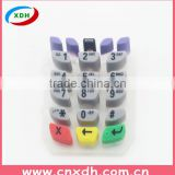Custom-made silicone rubber remote control keypad                                                                         Quality Choice