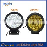 New design auto part 80W LED WORK LIGHT 4x4 accessory waterproof Led Work Light widely used Led Light bulb