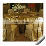 100% Polyester Cheap Wholesale Party Used Chair and Table Covers for sale