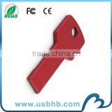 Chine manufature flash usb, wholesale free logo printing gadget usb key, best quality 100% real capacity key usb 2.0