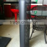 CE and painting galvanized chimney pipe single wall chimney pipe for wood burning stove