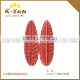 Wholesale silicone fondant mold Saw Blade leaves veiner mold cake decorating tools