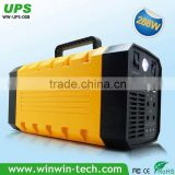 2016 Hot sale Ups 4Kw Inverter Uninterruptible Power Supply with LED light and solar panel