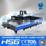 good quality metal fiber laser cutting machine to cut stainless steel/aluminum/mild steel/carbon steel/copper