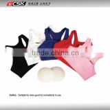 Female kick boxing match chest protector