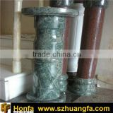 Chinese Green Marble balustrade and stone columns