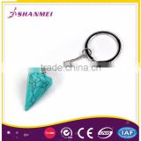 Free Sample Alloy Arrow Head Shape Metal Fashion Keychain