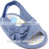 2015 cute flat baby boy barefoor sandals with comfortable designs