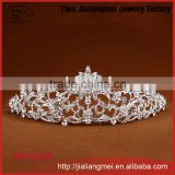 Wedding Bridal Soft delicate Hair Piece Crystal Bridal Tiara Wedding Bride Hair Crown Rhinestone Accessories