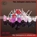 [Mix Color] Fashion customizable vintage rhinestones metal antique hair pins fancy hairpins 200pcs/box for women