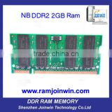 Computer spare parts used laptop ddr2 2 gb ram memory