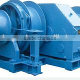High quality steel material hydraulic marine electric anchor winches for boats with reduction gearbox diesel engine