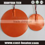 220V Round silicone heater pad