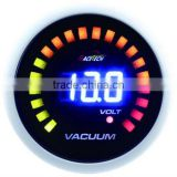 52mm blue LED display digital vacuum gauge/ digital vacuum gauge with 7-segments LED lights