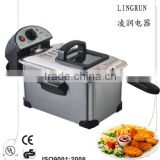 home use stainless steel 3.0L Electric Deep fryer