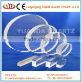 Transparent UV Quartz Glass Plate