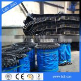 China Products Wholesale nice corrugated sidewall/machine rubber pattern conveyor belt