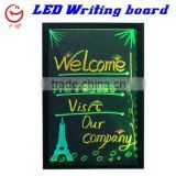 led fluorescence writing board with neon color changing