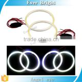 60mm 80mm 90mm 100mm 110mm 120mm White Blue Yellow Colors 120MM 93SMD Led Car Angel Eyes COB Lights up