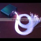 Side glow shining 3*0.75mm curtain fiber optic cable for fiber optic curtain or chandelier