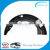 Good quality bus body kits front brake dust guard plate dust shield