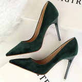 High Heels Dress Women Peep Toe Lady Shoes
