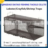 Metal Frame Shrimp Trap Fishing Net Cage, crab cage
