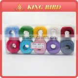 High quality 100 cotton sewing thread for crochet thread