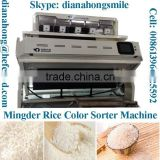 Agricultural Equipment, MINGDER Rice CCD Color Sorter Machine. (MS-M448)