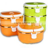 Multi-layer stainless steel thermal insulated lunch box tiffin box / Food Storage Containers